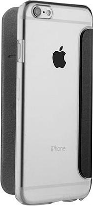 Étui à rabat MUVIT iPhone 7 Plus noir