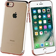 Coque de protection MUVIT Crystal iPhone 7/8 or rose