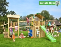 GRANDE STRUCTURE DE JEUX JUNGLE PARADISE