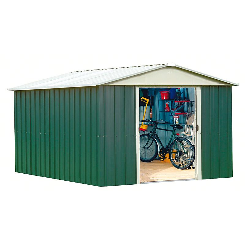 Abri de jardin métal Geyz 10,76 m²
