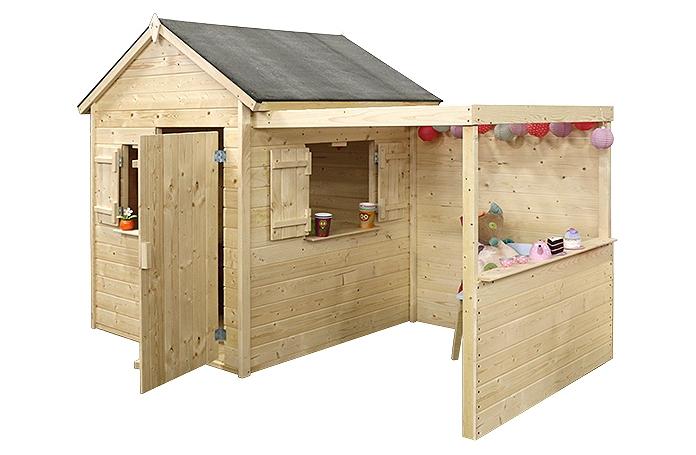 Maisonnette alpaga maison loisirs e leclerc - Maisonnette en bois leclerc ...