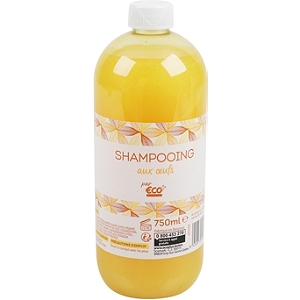 shampooing aux oeufs 750 ml. Black Bedroom Furniture Sets. Home Design Ideas