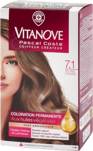 Coloration Permanente Blond Cendre 120 G