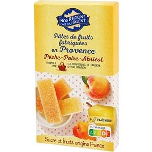 P tes de fruits de provence fruits jaunes 180 g - Pate de fruit maison ...