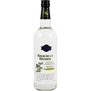 Rhum blanc traditionnel de la r union 49 vol 1 l - Prix alcool leclerc ...
