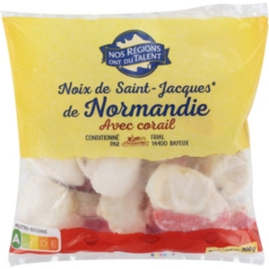 Noix St Jacques De Normandie 300g