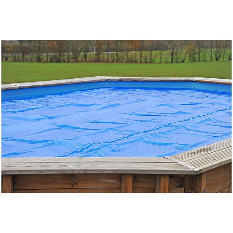 Bâche été piscine octogonale 4 m