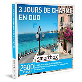 Smartbox - 3 jours de charme en duo