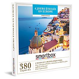 Smartbox - 4 jours étoilés en Europe
