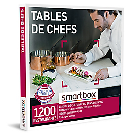 Smartbox - Tables de chefs