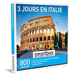 Smartbox - 3 jours en Italie