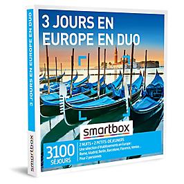 Smartbox - 3 jours en Europe en duo