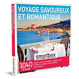 Smartbox - Voyage savoureux et romantique