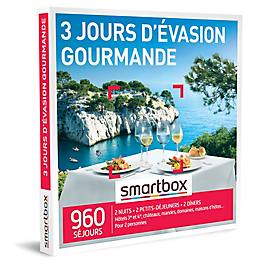 Smartbox - 3 jours d'évasion gourmande