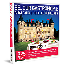 Smartbox - Séjour gastronomie châteaux et belles demeures