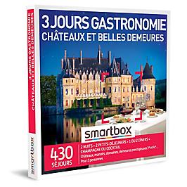 Smartbox - 3 jours gastronomie châteaux et belles demeures