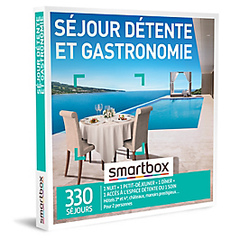 Smartbox - Séjour détente et gastronomie