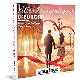 Smartbox - Villes romantiques d'Europe