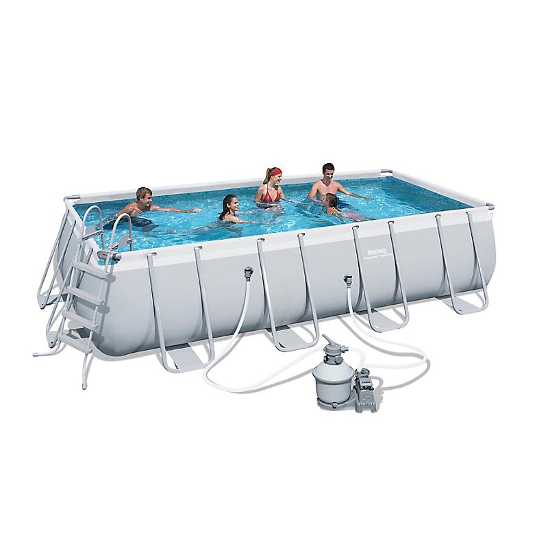 Piscines piscines spa jacuzzi loisirs jeux for Piscine tubulaire rectangulaire leclerc