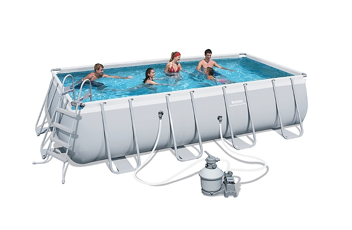 piscine tubulaire rectangulaire 549 x 274 x 122 cm. Black Bedroom Furniture Sets. Home Design Ideas
