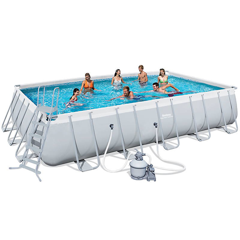 piscine tubulaire rectangulaire 671 x 366 x 132 cm