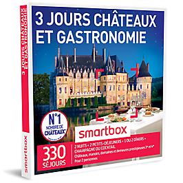 Smartbox -  3 jours Châteaux et gastronomie