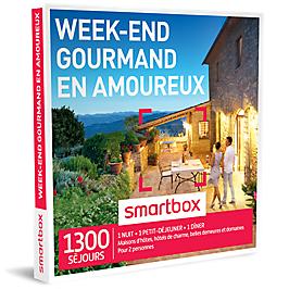 Smartbox - Week-end gourmand en amoureux