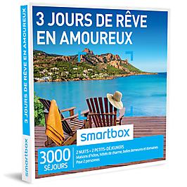 Smartbox - 3 jours de rêve en amoureux
