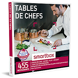 Smartbox - Tables de chefs