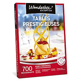 Wonderbox - Tables prestigieuses
