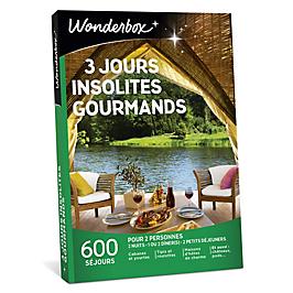 Wonderbox - 3 jours insolites gourmands