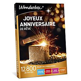 Wonderbox - Joyeux anniversaire de rêve