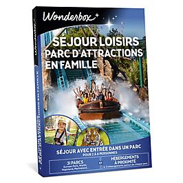 Wonderbox - Séjour loisirs et parc d'attractions en famille