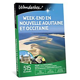 Wonderbox - Week-end en Nouvelle Aquitaine et Occitanie