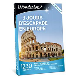 Wonderbox - 3 jours escapade en Europe