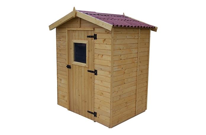 Abri panneau 16 mm m maison loisirs e leclerc for Abri de jardin e leclerc