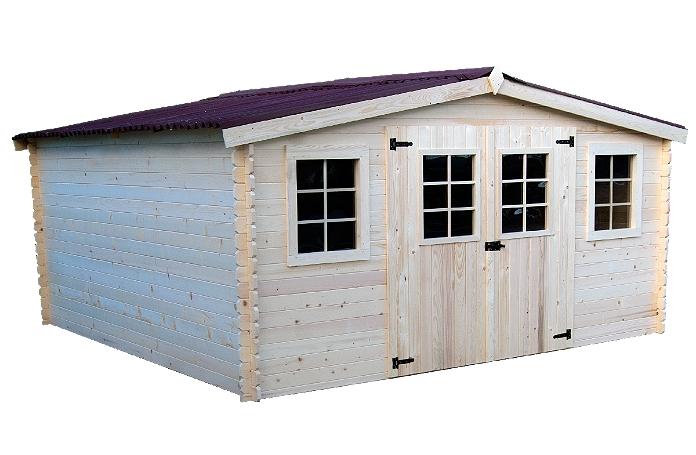 Abri madrieres 28 mm m maison loisirs e leclerc for Abri de jardin e leclerc