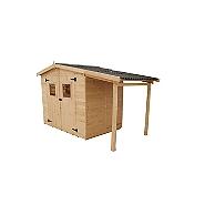 Abris de jardin am nagement ext rieur maison loisirs e leclerc for Abri de jardin en bois brico leclerc