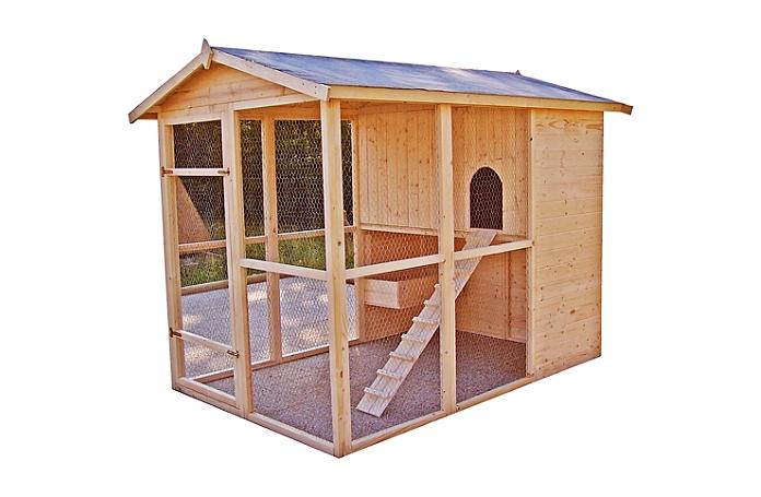 poulailler bois grande taille 10 poules maison loisirs e leclerc. Black Bedroom Furniture Sets. Home Design Ideas