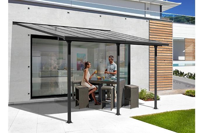 toit aluminium pente maison loisirs e leclerc. Black Bedroom Furniture Sets. Home Design Ideas
