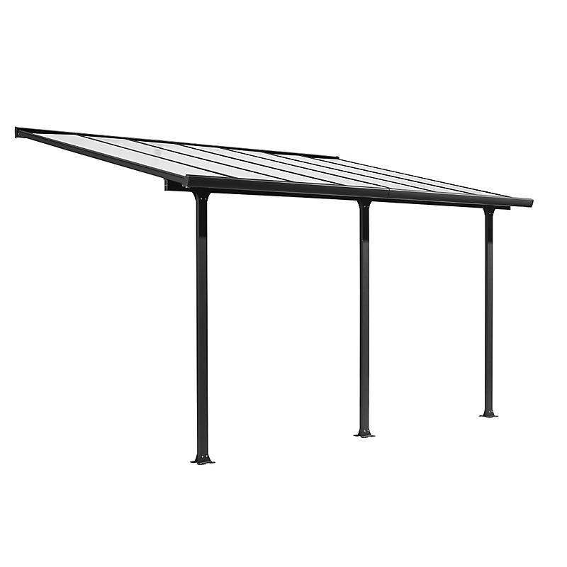 Toit Terrasse Aluminium 3,07m x 5m (15,38 m²)