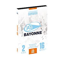 Tick&Box - AVIRON BAYONNAIS SUPPORTER
