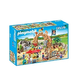 PLAYMOBIL - Grand zoo - 6634