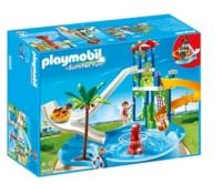 PLAYMOBIL   Parc Aquatique Avec Toboggans Géants   6669. Zoom
