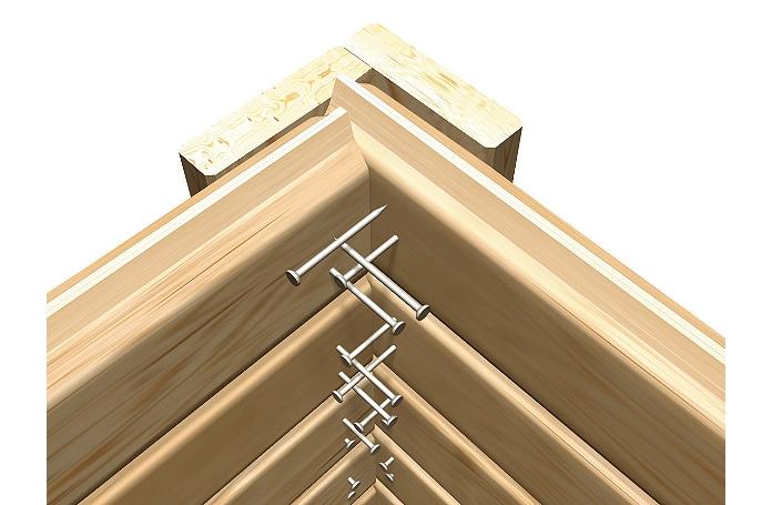 Abri muhlendorf 19 mm 6 m maison loisirs e leclerc for Abri de jardin e leclerc