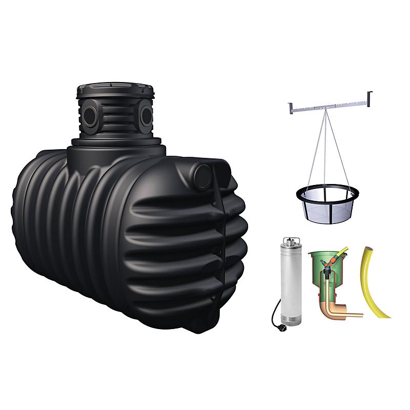 Récupérateur d'eau de pluie 4Rain 1600 L