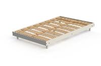 SOMMIER KIT BLANC BOIS 160 X 200 CM