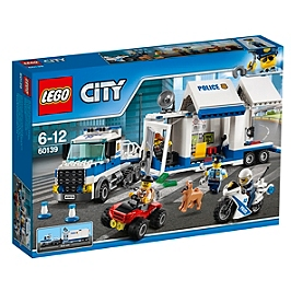 lego city le poste de commandement mobile lego jouets espace culturel e leclerc. Black Bedroom Furniture Sets. Home Design Ideas