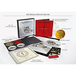 Distance over time, édition collector deluxe 2 CD Blu-Ray DVD 2 LP + poster cartes postales disque en feutre patch pin's, CD + Blu-ray