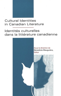 Cultural Identities in Canadian Literature| Identités culturelles dans la littérature canadienne -